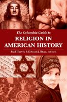 Cover image for The Columbia guide to religion in American history