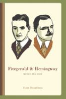 Cover image for Fitzgerald & Hemingway works and days