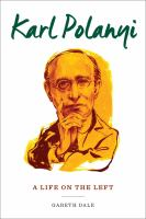 Cover image for Karl Polanyi  a life on the left