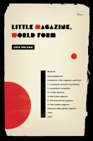 Cover image for Little magazine, world form