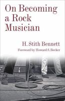 Cover image for On becoming a rock musician