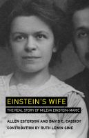Cover image for Einstein's wife : the real story of Mileva Einstein-Marić