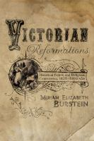 Cover image for Victorian reformations historical fiction and religious controversy, 1820-1900