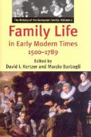 Cover image for The history of the European family