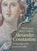 Imagen de portada para Archaeology of the land of the Bible Volume 3, Alexander to Constantine