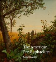 Cover image for The American Pre-Raphaelites : radical realists