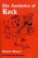 Cover image for The aesthetics of rock