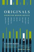 Cover image for Originals : American women artists