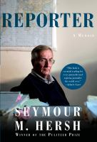 Cover image for Reporter : a memoir