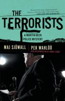 Cover image for The terrorists : a Martin Beck mystery