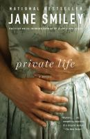 Cover image for Private life