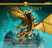 Cover image for The lost hero The Heroes of Olympus Series, Book 1.
