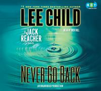 Cover image for Never go back