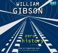 Cover image for Zero history