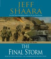 Cover image for The final storm a novel of World War II in the Pacific
