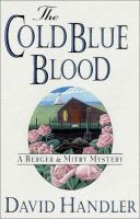 Cover image for The cold blue blood