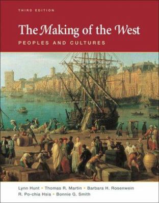 Cover image for The making of the West : peoples and cultures