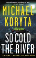 Cover image for So cold the river