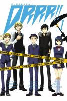 Cover image for Durarara!! DRRR!!