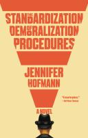 Cover image for The standardization of demoralization procedures