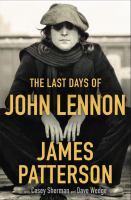 Cover image for The last days of John Lennon