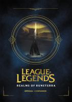 Cover image for League of legends : Realms of Runeterra.