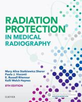 Cover image for Radiation protection in medical radiography