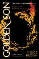 Cover image for Golden son Red Rising Trilogy, Book II.