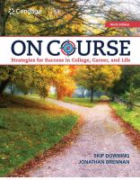 Cover image for On course : strategies for creating success in college, career, and life