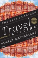 Cover image for The best American travel writing 2020
