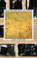 Cover image for Pale colors in a tall field