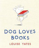 Cover image for Dog loves books