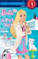 Cover image for I can be a pet vet Barbie.