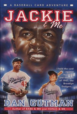 Imagen de portada para Jackie and me : a baseball card adventure