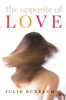 Cover image for The opposite of love