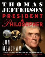 Cover image for Thomas Jefferson : president & philosopher