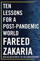 Cover image for Ten lessons for a post-pandemic world