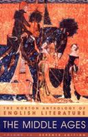 Cover image for The Norton anthology of English literature