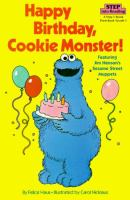 Cover image for Happy birthday, Cookie Monster!
