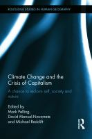 Imagen de portada para Climate change and the crisis of capitalism a chance to reclaim self, society and nature