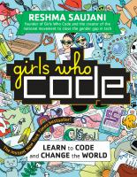 Cover image for Girls who code : learn to code and change the world
