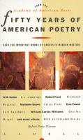 Imagen de portada para Fifty years of American poetry : anniversary volume for the Academy of American Poets