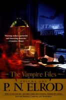 Cover image for The vampire files
