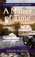 Cover image for A matter of time