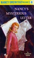 Cover image for Nancy's mysterious letter