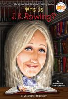 Cover image for Who is J.K. Rowling?