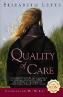 Cover image for Quality of care