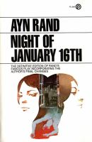 Cover image for Night of January 16th : a play