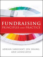 Cover image for Fundraising principles and practice