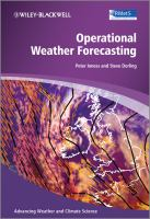 Cover image for Operational weather forecasting